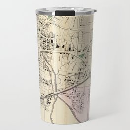 Vintage Map of Stamford CT (1867) Travel Mug