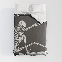 Cool Skeleton Comforters