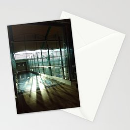 Boarding shadows Stationery Cards