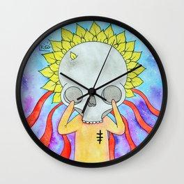 38 petals Wall Clock