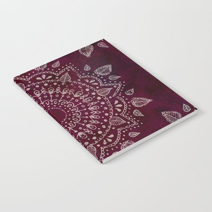 Wine Mandala Notebook