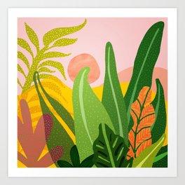 Jungle Morning Art Print