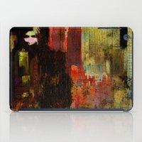 acid iPad Cases featuring Acid rain by Ganech joe