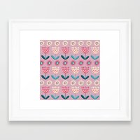 tulips Framed Art Prints featuring Tulips by Valendji
