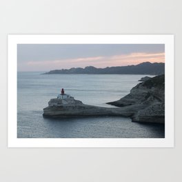 The Madonnetta lighthouse Art Print