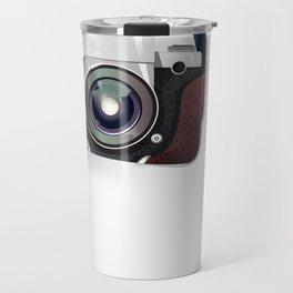 Vintage Camera Travel Mug