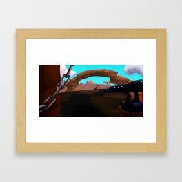 Background 2 Framed Art Print