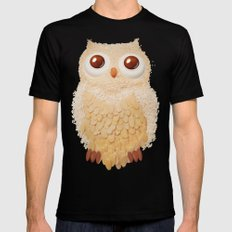 Owlmond 1 Mens Fitted Tee Black X-LARGE