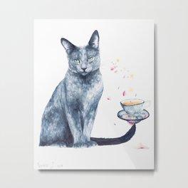 A Cup of Tea Metal Print