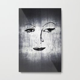Greta (two) Metal Print