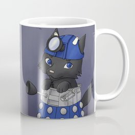 Doctor Wolf Dalek Coffee Mug