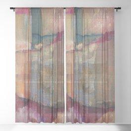 Warming Up Sheer Curtain