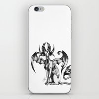sphynx iPhone & iPod Skins featuring Sphynx by STiCK MONSTER iNK