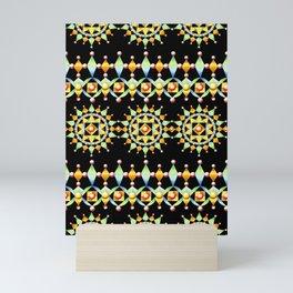 Bijoux Sunburst Stripe Mini Art Print