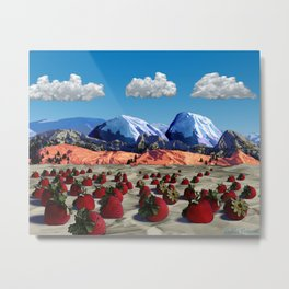 Paper Mountains Majesty Metal Print