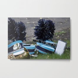 Memorial Parade Marching Band Metal Print