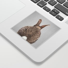 Rabbit Tail - Colorful Sticker