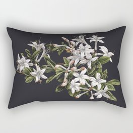 Azalia Flower Rectangular Pillow