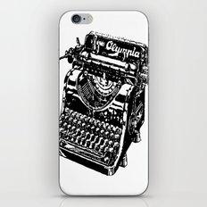 Old Typewriter iPhone & iPod Skin