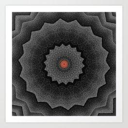 Dark Star Art Print