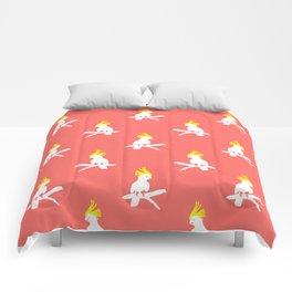 Bright Cockatoo Duo Comforters