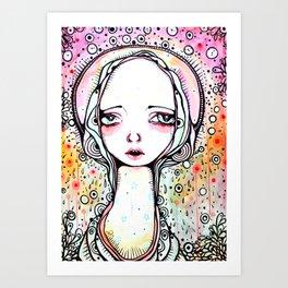 Saint Chloe Art Print