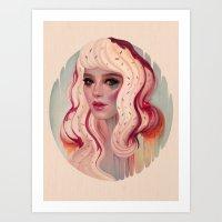 à La Mode Art Print