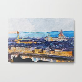 Florence, Beauty of Italy Metal Print