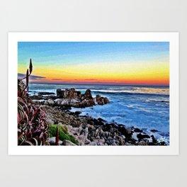PG Sunset Art Print