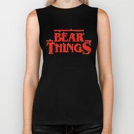 Bear Things Biker Tank