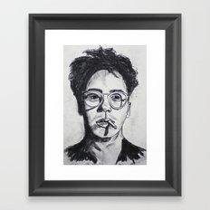 Robert Downey Jr. Framed Art Print