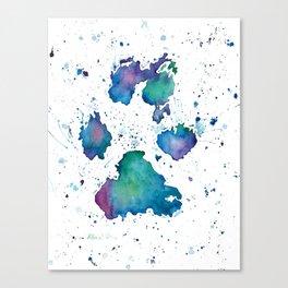 Dogs (Soul Print) Canvas Print