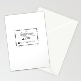 Care Instructions Stationery Cards