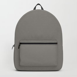 Middle Grey - solid color Backpack