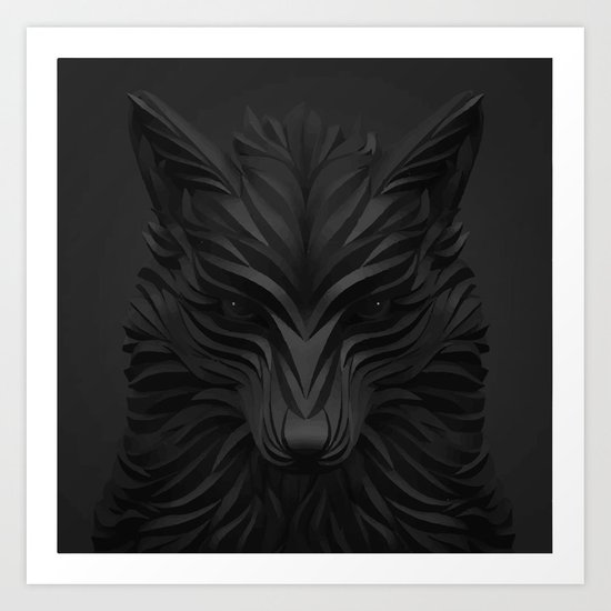 Fox #2 Art Print