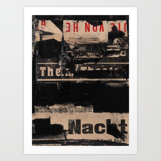 The Nacht Art Print