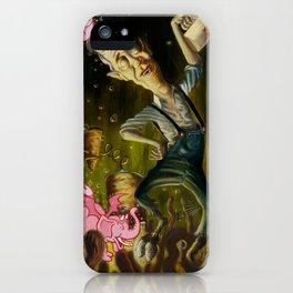 The Demon of Round Cypress iPhone Case