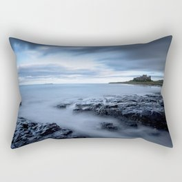 Swimming the blues Rectangular Pillow