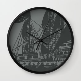 Matey Wall Clock