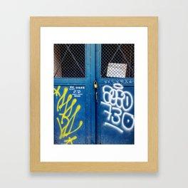 Cluj Graffiti #4 Framed Art Print