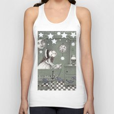 When it's Night Outside Unisex Tank Top