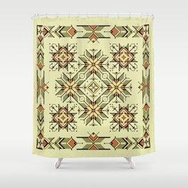 equilibrium | boho pattern Shower Curtain