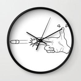 BangBang_White Wall Clock