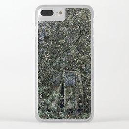 Overgrown van Clear iPhone Case