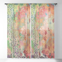 Love Knows No Bounds Sheer Curtain