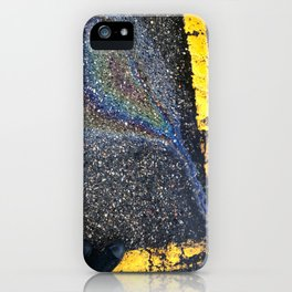 Parking lot Galaxy iPhone Case