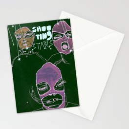 shooting stars an the rebels. Stationery Cards
