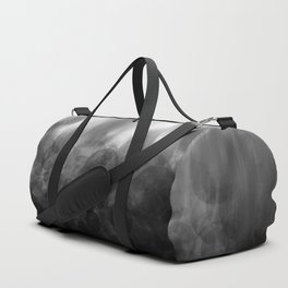 B&W Spotted Blur Duffle Bag