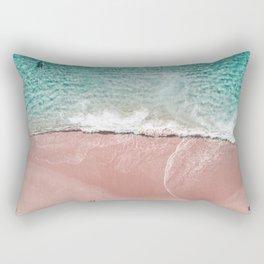 Pink Vacation Rectangular Pillow