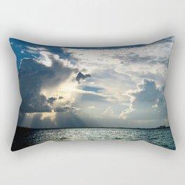 Coconut Grove Sailing Day Rectangular Pillow